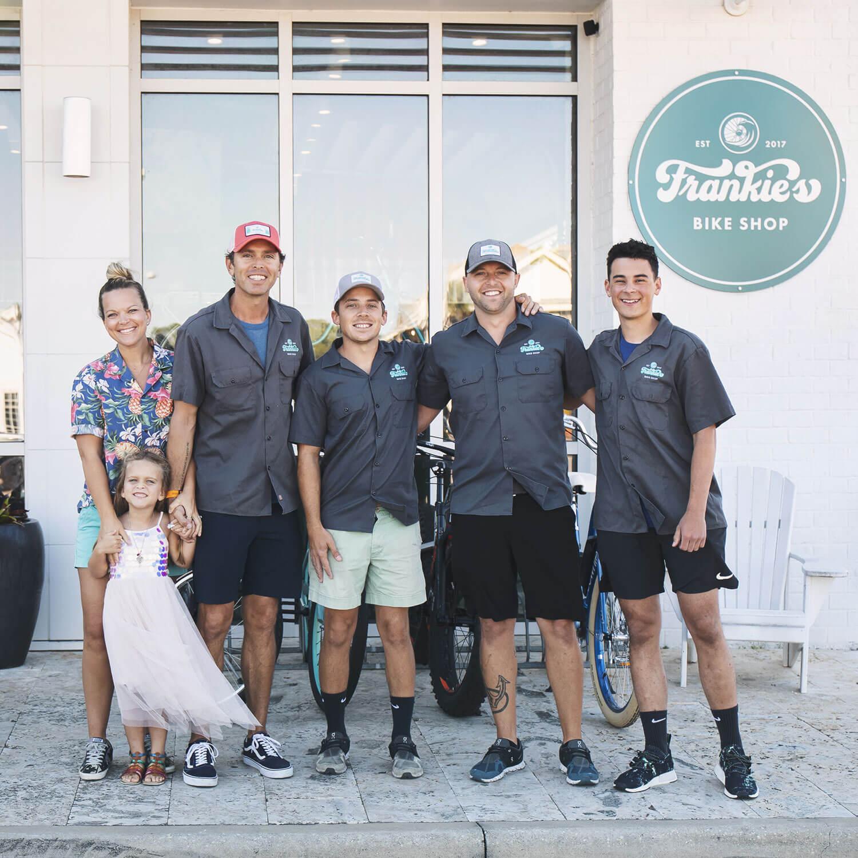 Frankie Bike Shop 30a Team