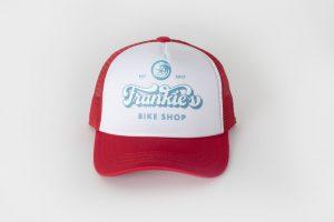 Frankie's Bike Shop Kids Trucker Hat Red