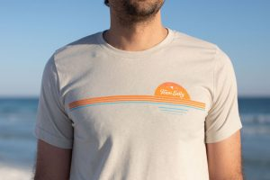Team Salty Retro Stripes T-Shirt